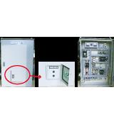 排水機用 屋外壁掛け型自動/手動制御盤(附帯機器)